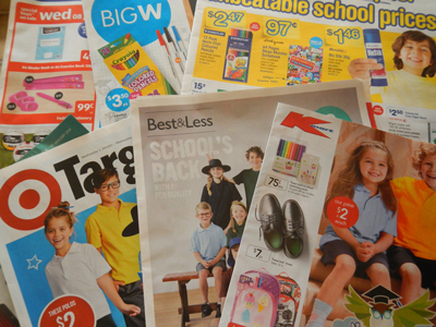 Design from a Big W catalogue  - Save Money On 'Back-to-School'