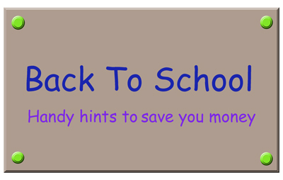 Save Money On 'Back-to-School'
