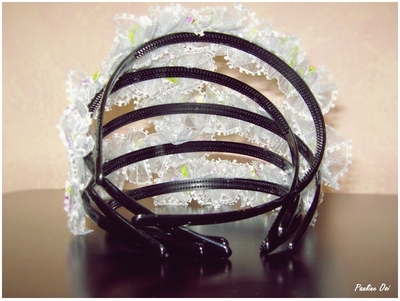 Back view of hairband