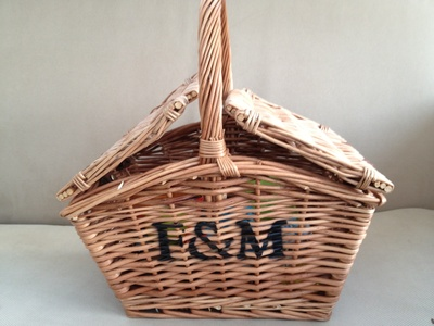 Hamper, gift, present, wicker, ideas