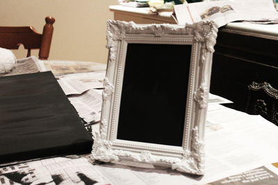 chalk board, photo frame, diy chalkboard, chalk board to do list