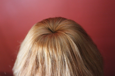 Donut Hair Bun, Easy,