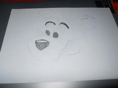 draw cartoon, bear