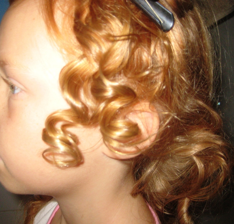 How To Create Old Fashioned Rag Curls