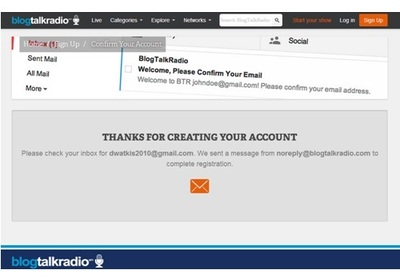how to create a radio station