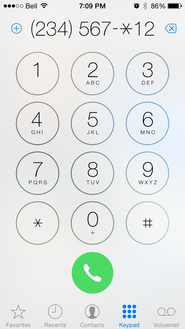 iPhone extension autodial  - Dial through a Company Phone Directory using an iPhone