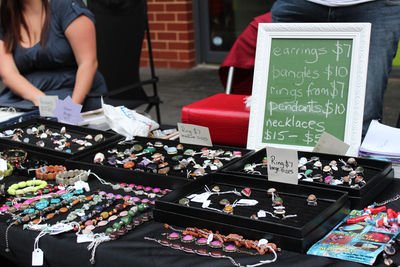 jewellery, bilyara crafts, jewelry, market stall