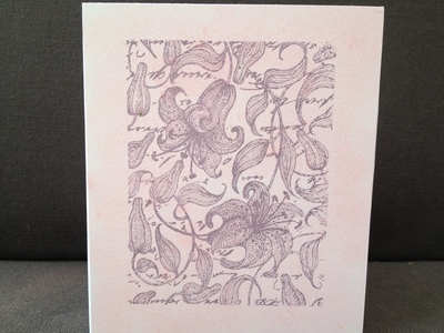 rubber stamp, stamping, ink, greeting card, make your own card