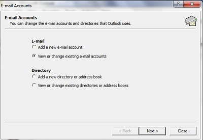 set up Microsoft Outlook