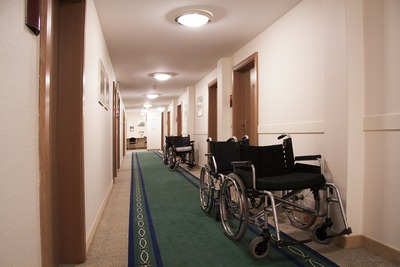 Wheelchairs Inside