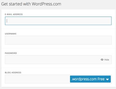 wordpress blog, how to start a blog, blogging tips, blogging 101, wordpress.com, free blogging platforms